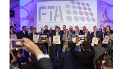 FTA EUROPE DIAMOND AWARDS 2018: PREMIATE LE ECCELLENZE DELLA FLESSOGRAFIA IN EUROPA